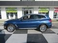BMW X3 sDrive30i Phytonic Blue Metallic photo #1
