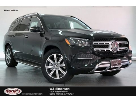 Obsidian Black Metallic 2020 Mercedes-Benz GLS 450 4Matic