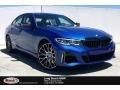 BMW 3 Series M340i Sedan Portimao Blue Metallic photo #1