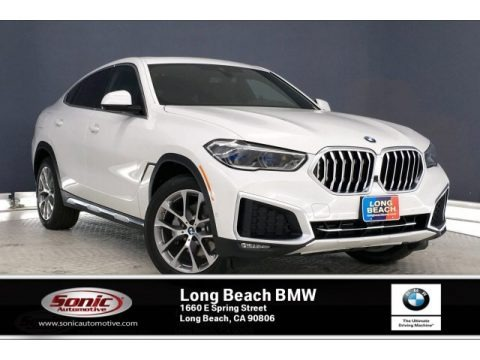 Alpine White 2020 BMW X6 xDrive40i