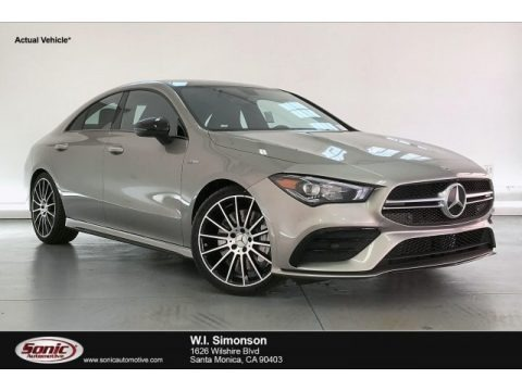 Mojave Silver Metallic 2020 Mercedes-Benz CLA AMG 35 Coupe