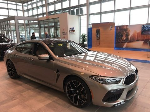 Donington Grey Metallic 2020 BMW M8 Gran Coupe