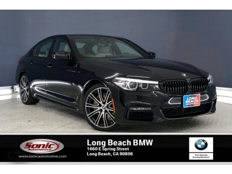 Black Sapphire Metallic 2020 BMW 5 Series 540i Sedan