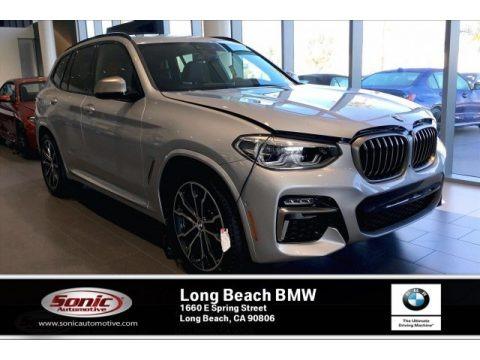 Glacier Silver Metallic 2020 BMW X3 M40i