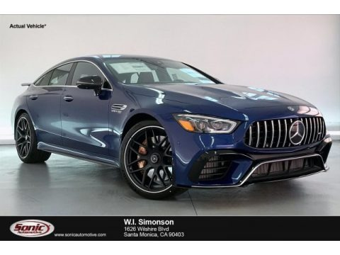 Brilliant Blue Metallic 2020 Mercedes-Benz AMG GT 63 S