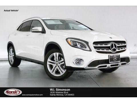 Polar White 2020 Mercedes-Benz GLA 250