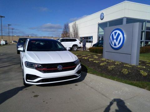 Pure White 2020 Volkswagen Jetta GLI Autobahn