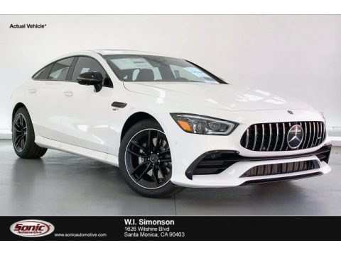 Polar White 2020 Mercedes-Benz AMG GT 53