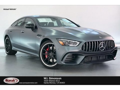Selenite Grey Metallic 2020 Mercedes-Benz AMG GT 63