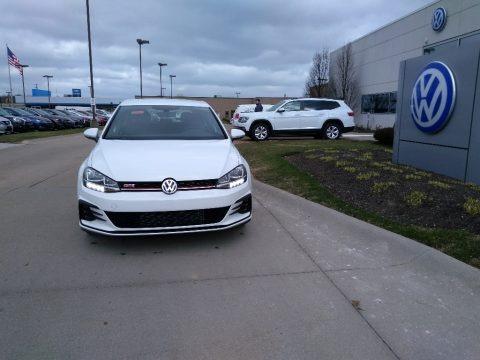 White Silver Metallic 2020 Volkswagen Golf GTI Autobahn