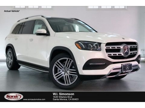 designo Diamond White Metallic 2020 Mercedes-Benz GLS 450 4Matic