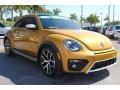 Volkswagen Beetle 1.8T Dune Coupe Sandstorm Yellow Metallic photo #2