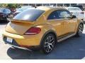 Volkswagen Beetle 1.8T Dune Coupe Sandstorm Yellow Metallic photo #9