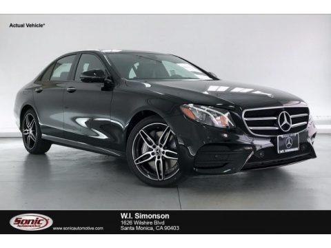 Black 2020 Mercedes-Benz E 450 4Matic Sedan