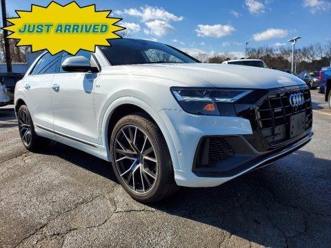 Carrara White 2019 Audi Q8 55 Premium quattro