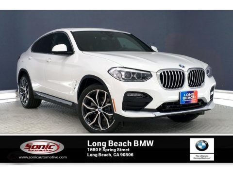 Alpine White 2020 BMW X4 xDrive30i