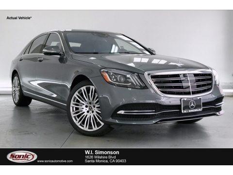 Selenite Grey Metallic 2020 Mercedes-Benz S 560 Sedan