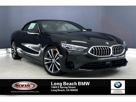 Black Sapphire Metallic 2020 BMW 8 Series 840i Convertible