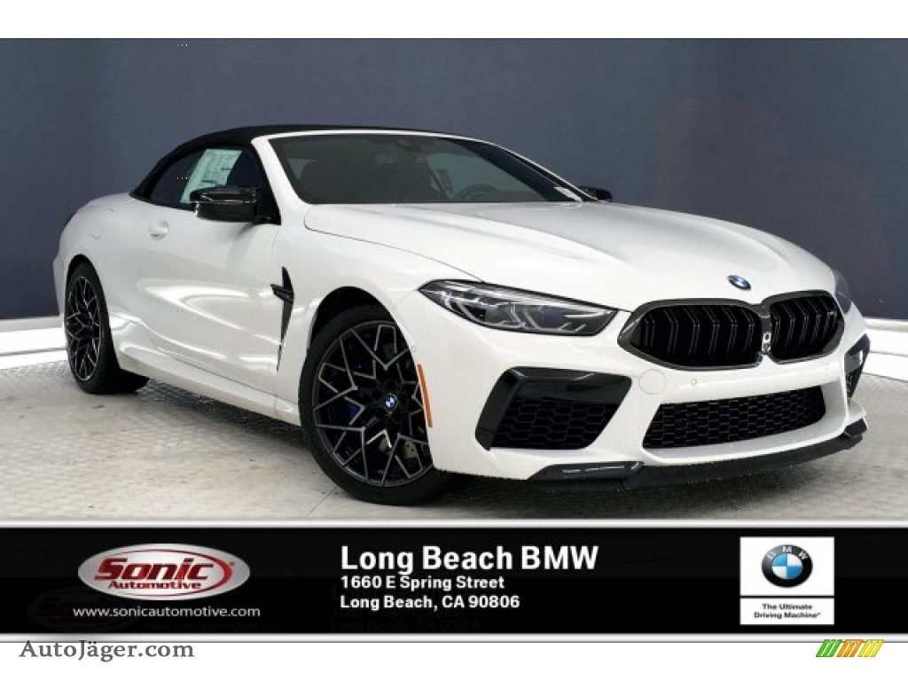 2020 M8 Convertible - Alpine White / Black photo #1
