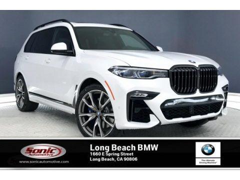Mineral White Metallic 2020 BMW X7 M50i