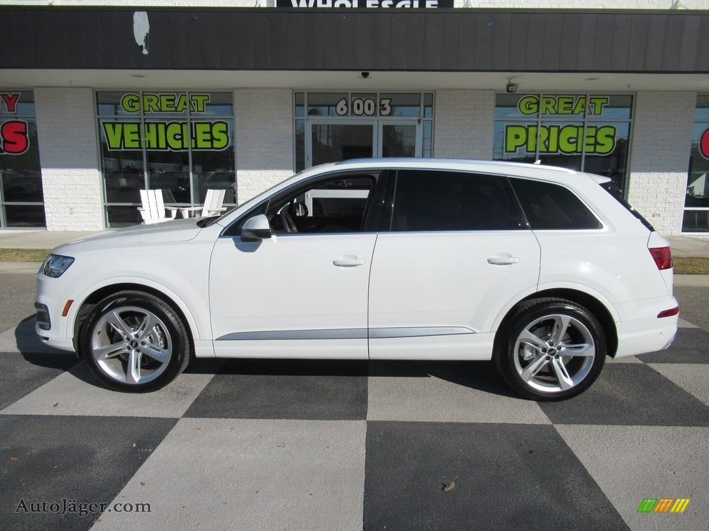 2019 Q7 55 Prestige quattro - Carrara White / Pistachio Beige photo #1