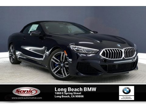 Carbon Black Metallic 2020 BMW 8 Series 840i Convertible