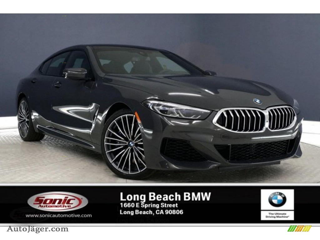2020 8 Series 840i Gran Coupe - Dravit Grey Metallic / Black photo #1