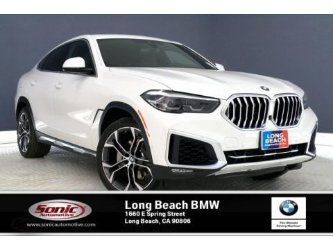 Alpine White 2020 BMW X6 sDrive40i
