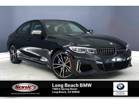 Black Sapphire Metallic 2020 BMW 3 Series M340i Sedan