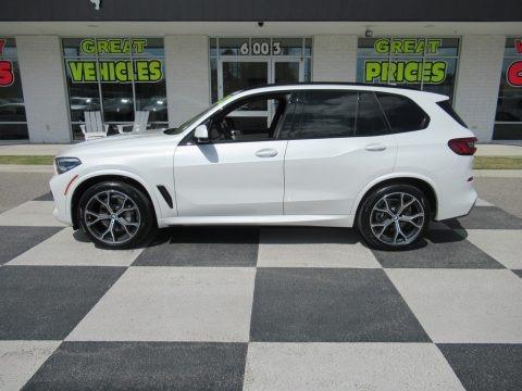 Alpine White 2020 BMW X5 sDrive40i