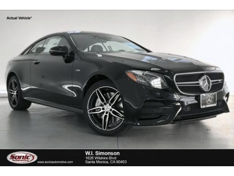Black 2020 Mercedes-Benz E 53 AMG 4Matic Coupe