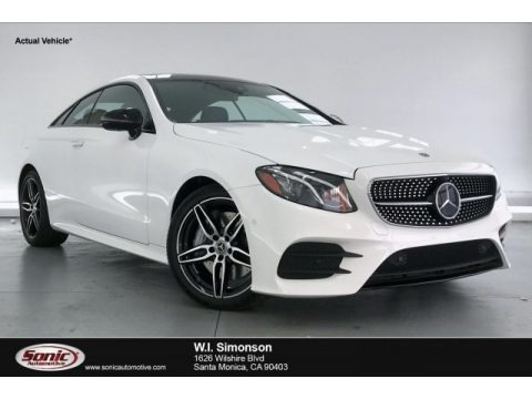 Polar White 2020 Mercedes-Benz E 450 Coupe