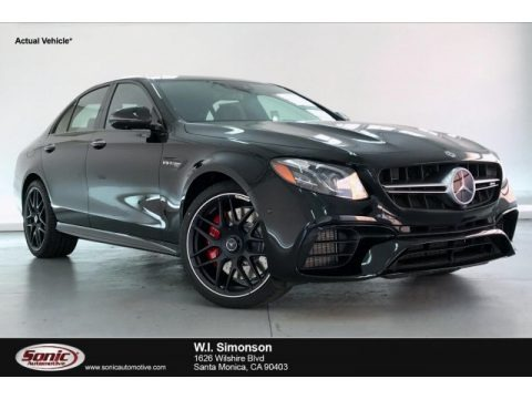 Black 2020 Mercedes-Benz E 63 S AMG 4Matic Sedan