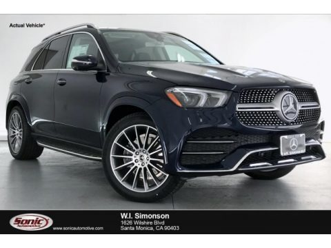 Lunar Blue Metallic 2020 Mercedes-Benz GLE 350 4Matic