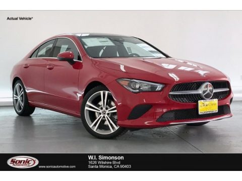 Jupiter Red 2020 Mercedes-Benz CLA 250 Coupe