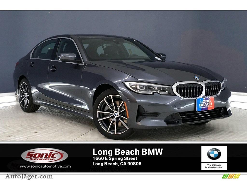 2020 3 Series 330i Sedan - Mineral Grey Metallic / Black photo #1