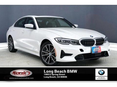 Mineral White Metallic 2020 BMW 3 Series 330i Sedan