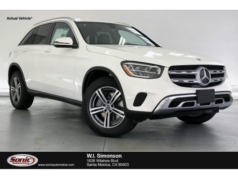 Polar White 2020 Mercedes-Benz GLC 300