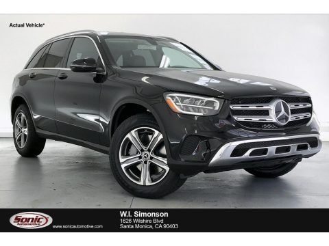 Black 2020 Mercedes-Benz GLC 300