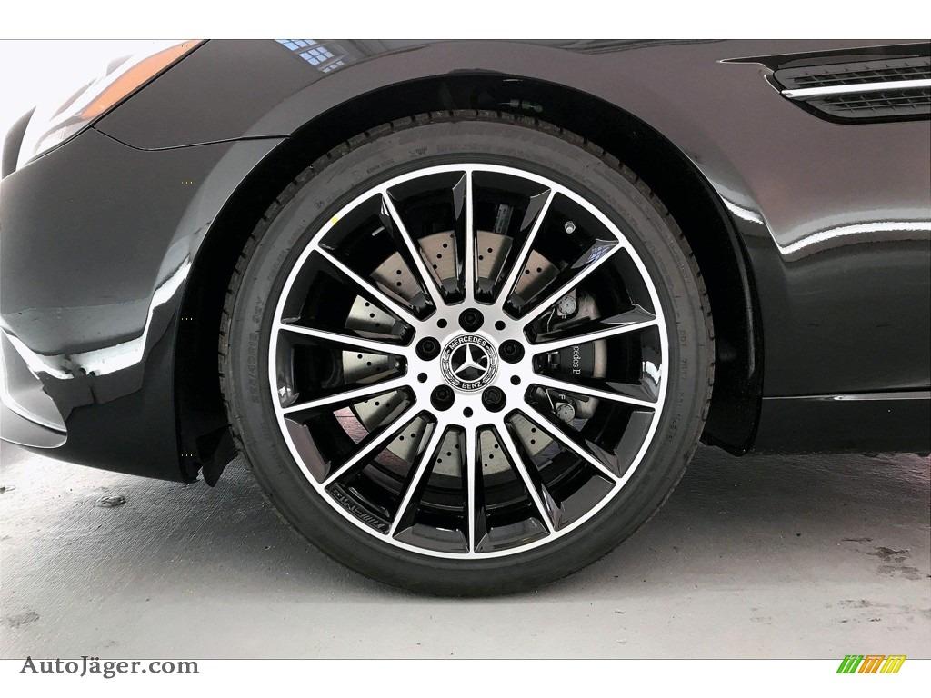 2020 SLC 300 Roadster - Obsidian Black Metallic / Bengal Red/Black photo #9