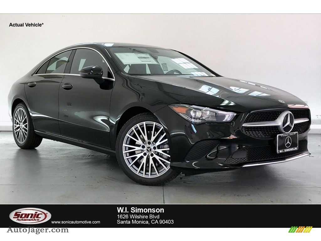 2020 CLA 250 Coupe - Night Black / Black photo #1