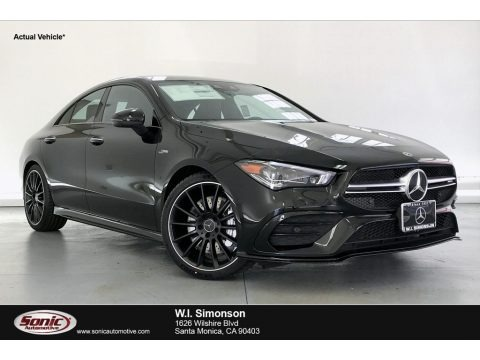 Night Black 2020 Mercedes-Benz CLA AMG 35 Coupe