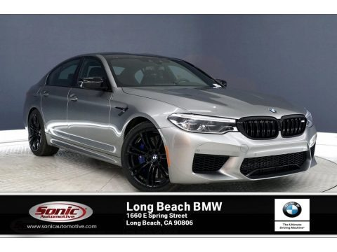 Donington Gray Metallic 2020 BMW M5 Competition
