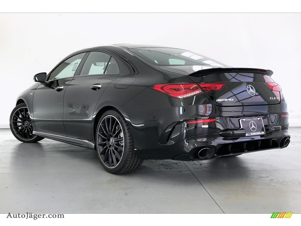2020 CLA AMG 35 Coupe - Night Black / Classic Red/Black photo #10