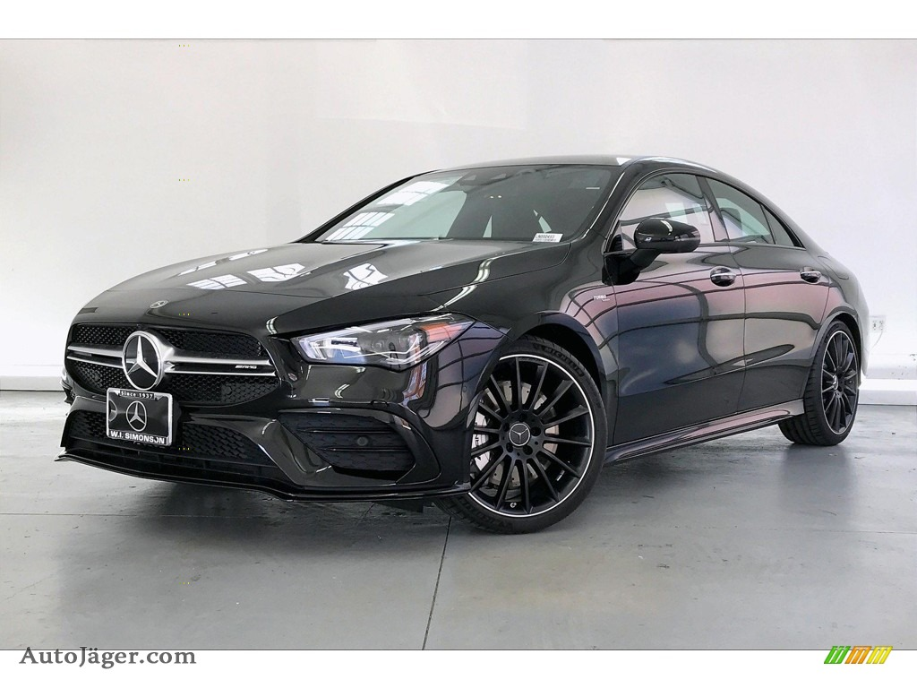 2020 CLA AMG 35 Coupe - Night Black / Classic Red/Black photo #12