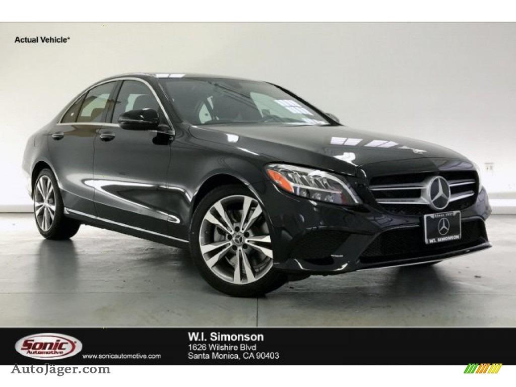 2020 C 300 Sedan - Black / Black photo #1