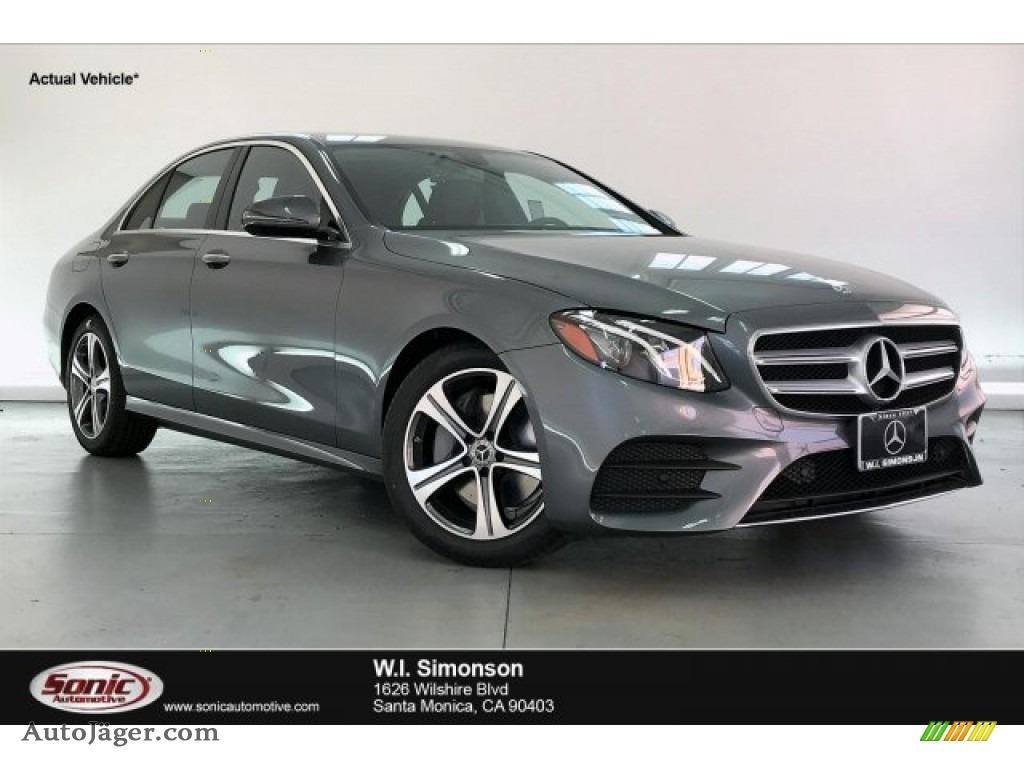 2020 E 350 Sedan - Selenite Grey Metallic / Black photo #1