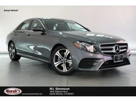 Selenite Grey Metallic 2020 Mercedes-Benz E 350 Sedan