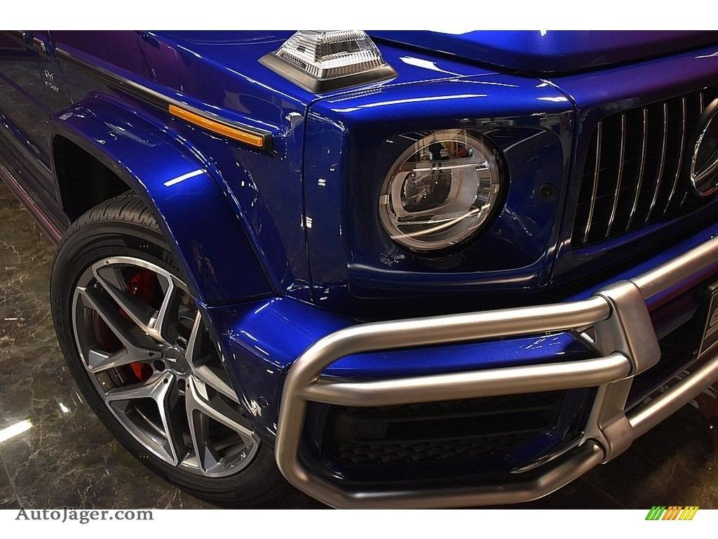 2020 G 63 AMG - Brilliant Blue Metallic / Black photo #8