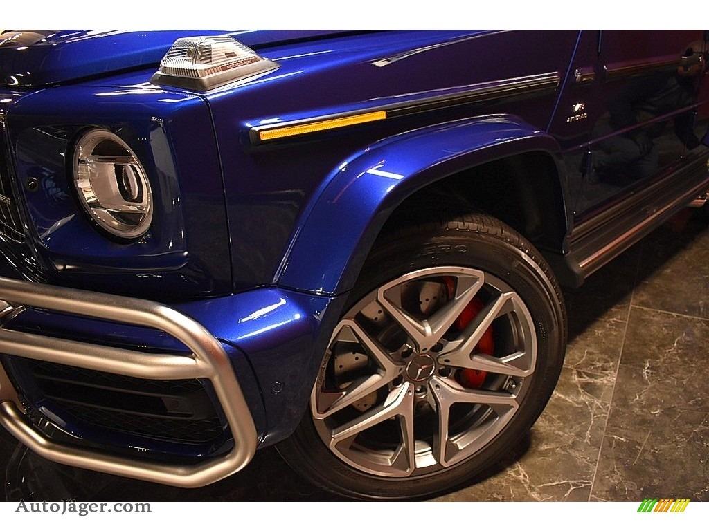 2020 G 63 AMG - Brilliant Blue Metallic / Black photo #9